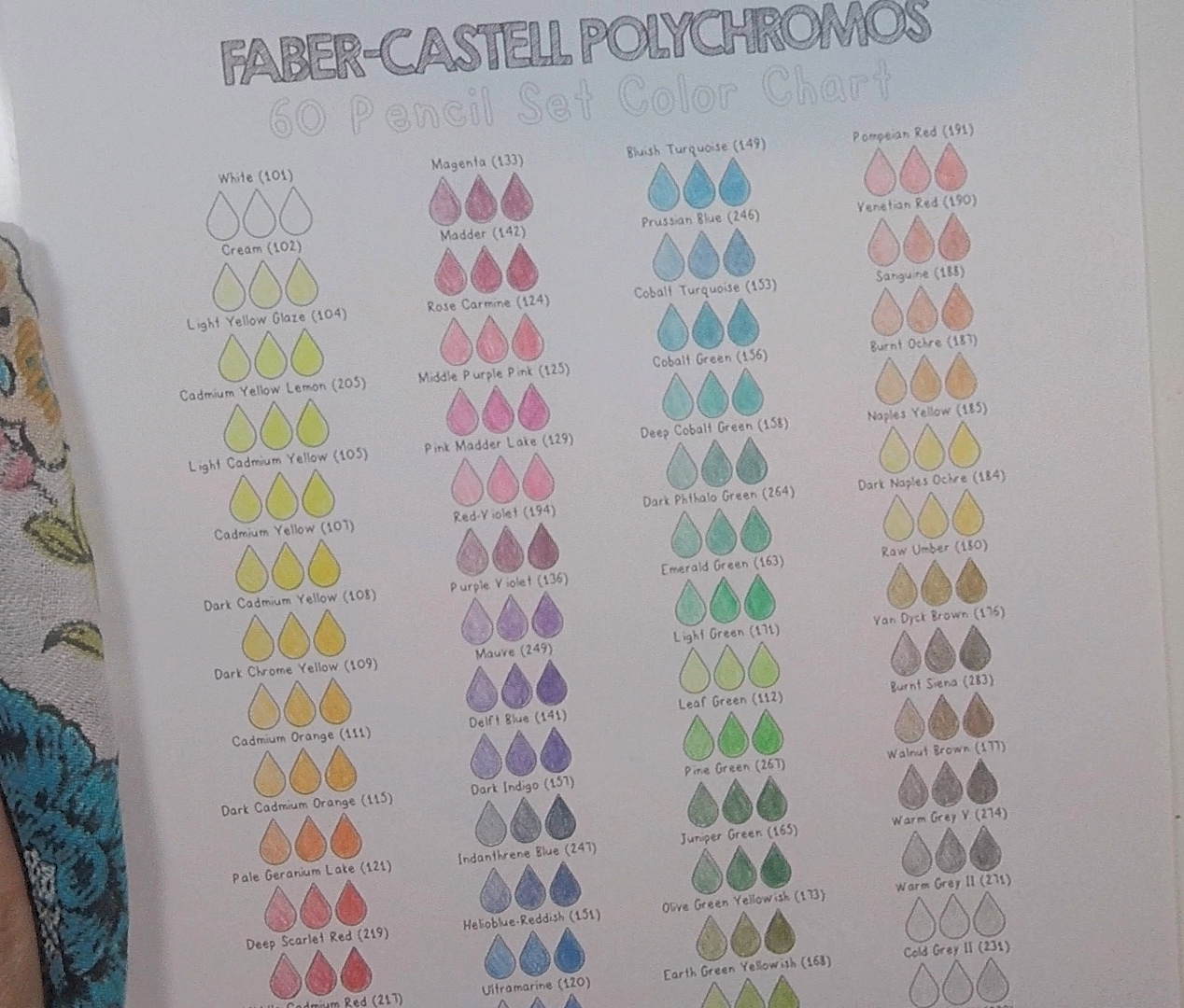 Color charts pencilstash color charts nvjuhfo Gallery